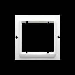 Adapter przejściówka na osprzęt standardu 45×45 mm biały-254292