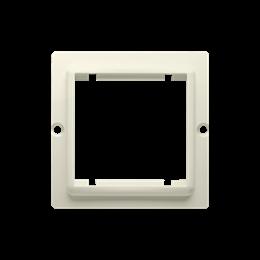 Adapter przejściówka na osprzęt standardu 45×45 mm beżowy-254293