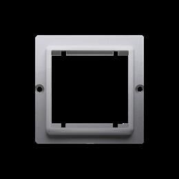 Adapter przejściówka na osprzęt standardu 45×45 mm inox, metalizowany-254294