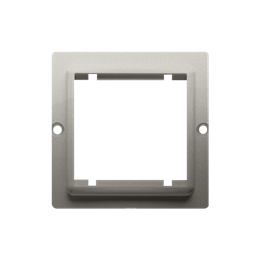 Adapter przejściówka na osprzęt standardu 45×45 mm satynowy, metalizowany-254295