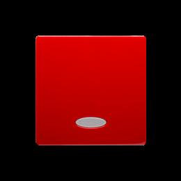 Klawisz pojedynczy z oczkiem do łączników i przycisków podświetlanych czerwony-254320
