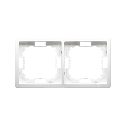 Ramka 2- krotna biały-253344