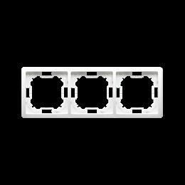 Ramka 3- krotna biały-253348