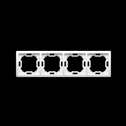 Ramka 4- krotna biały-253352