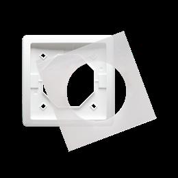 Ramka 1- krotna IP44 biały-253355