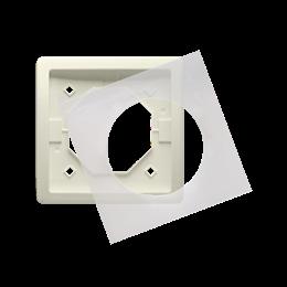 Ramka 1- krotna IP44 beżowy-253356