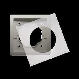 Ramka 1- krotna IP44 satynowy, metalizowany-253358
