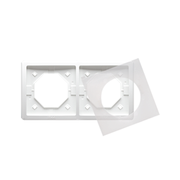 Ramka 2- krotna IP44 biały-253363
