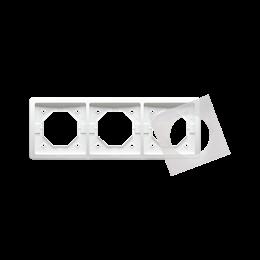 Ramka 3- krotna IP44 biały-253359