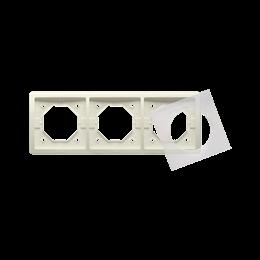 Ramka 3- krotna IP44 beżowy-253360