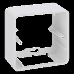 Puszka natynkowa pojedyncza składana K45 1×K45 czysta biel-255810