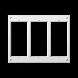 Ramka osprzętowa CIMA 3×CIMA (element zapasowy) czysta biel-255987