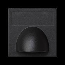Plakietka przyłączeniowa K45 kątowa bezpośrednia 45×45mm szary grafit-255844