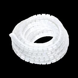 Organizator do kabli O25mm dł.:20m biały transparentny-256237