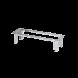Ramka do montażu w zabudowie meblowej OFIBLOK LINE 4×K45 chrom-255883