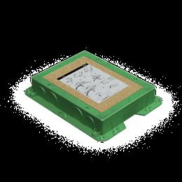 Kaseta do wylewki z tworzywa KF prostokątna-255900