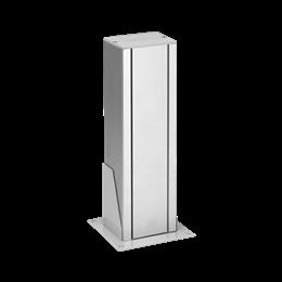 Minikolumna jednostronna ALK prostokątna 360mm 7×K45 aluminium-256058