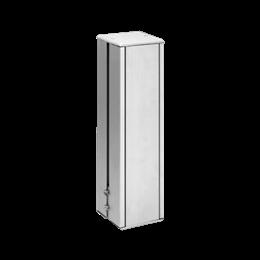 Minikolumna dwustronna ALK kwadratowa 225mm 8×K45 aluminium-256059