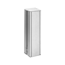 Minikolumna dwustronna ALK kwadratowa 285mm 10×K45 aluminium-256060