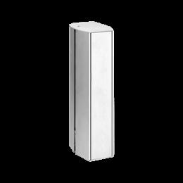 Minikolumna dwustronna ALK owalna 260mm 10×K45 aluminium-256075