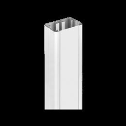 Element przedłużający do kolumn jednostronnych ALC dł.:1m aluminium-256094