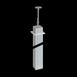 Kolumna dwustronna ALK 3m aluminium-256090