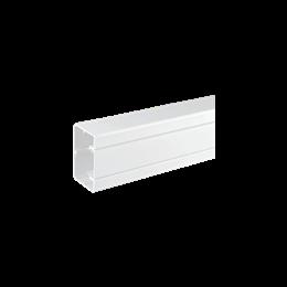 Kanał instalacyjny CABLOPLUS PVC 90×55mm Ilość komór:1 dł.:2m (cena za mb) czysta biel IK:IK07-256107
