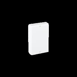 Zaślepka końcowa CABLOPLUS 90×55mm czysta biel-256155