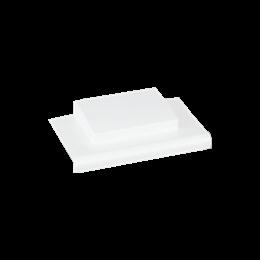 Łącznik T CABLOPLUS do minikanałów czysta biel-256169