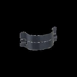 Łuk do światłowodów CABLOPLUS pionowy dł.:78mm czarny-256170