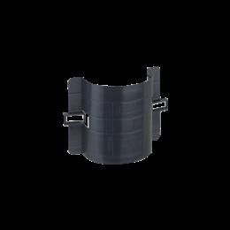 Łuk do światłowodów CABLOPLUS poziomy dł.:98mm czarny-256171