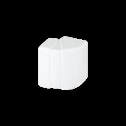 Regulowany kąt zewnętrzny CABLOPLUS 130×55mm czysta biel-256132