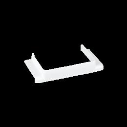 Łącznik T CABLOPLUS do kanałów 130,160,185 wyjście 130x55 czysta biel-256164