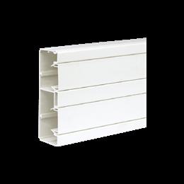 Kanał instalacyjny CABLOPLUS PVC 160×55mm Ilość komór:2 dł.:2m (cena za mb) czysta biel IK:IK07-256109