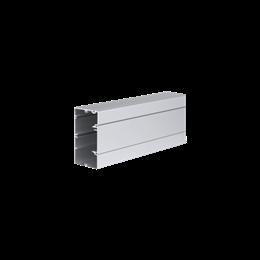 Kanał instalacyjny CABLOPLUS ALU 90×55mm Ilość komór:1 dł.:2m (cena za mb) aluminium IK:IK07-256111