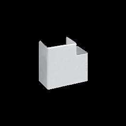 Kąt płaski CABLOPLUS 90×55mm aluminium-256143