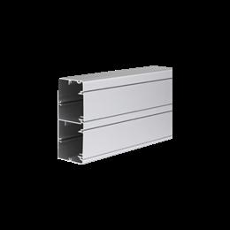 Kanał instalacyjny CABLOPLUS ALU 130×55mm Ilość komór:2 dł.:2m (cena za mb) aluminium IK:IK07-256112