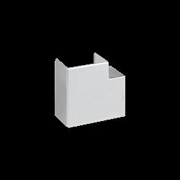 Kąt płaski CABLOPLUS 130×55mm aluminium-256144