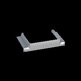 Łącznik T CABLOPLUS do kanałów 130,160,185 wyjście 130x55 aluminium-256167