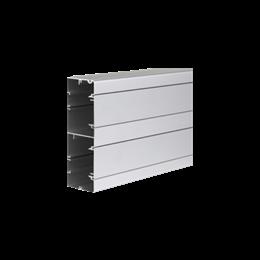Kanał instalacyjny CABLOPLUS ALU 160×55mm Ilość komór:2 dł.:2m (cena za mb) aluminium IK:IK07-256113