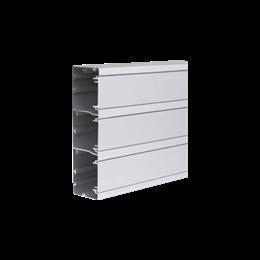 Kanał instalacyjny CABLOPLUS ALU 185×55mm Ilość komór:3 dł.:2m (cena za mb) aluminium IK:IK07-256114