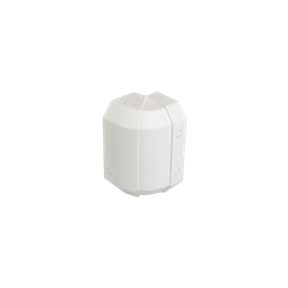 Regulowany kąt zewnętrzny CABLOMAX 130×55mm czysta biel-256178