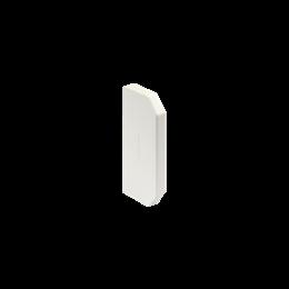 Zaślepka końcowa CABLOMAX 130×55mm czysta biel-256196
