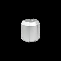 Regulowany kąt zewnętrzny CABLOMAX 130×55mm aluminium-256181