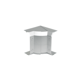 Regulowany kąt wewnętrzny CABLOMAX 130×55mm aluminium-256175