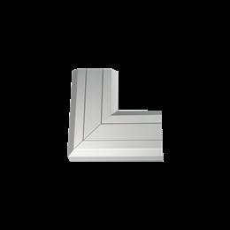 Kąt płaski do góry CABLOMAX 130×55mm aluminium-256214
