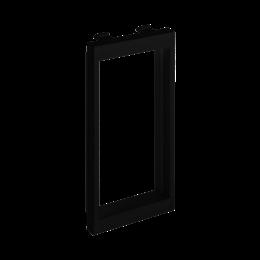 Adapter CIMA poziomy sąsiadujący 2× K45 108×52mm szary grafit-256245