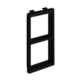 Adapter CIMA poziomy 2× K45 108×52mm szary grafit-256243