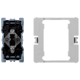 Przycisk K45 z podświetleniem (mechanizm) 16AX 250V 45×22,5mm-256543