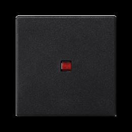 Klawisz K45 z podświetleniem kolor: czerwony 45×45mm szary grafit-256559